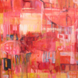 Ashley Hagen Contemporary Artist, Paint the Town Red